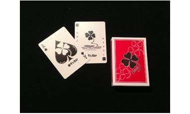 Deck Toto's Bar Red Cartes Playing Cards