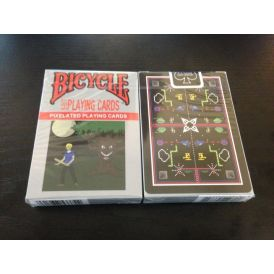 8-Bit Black Playing Cards Cartes