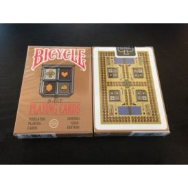 8-Bit Limited Edition Gold Playing Cards
