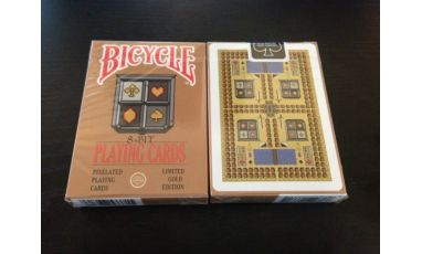 8-Bit Limited Edition Gold Cartes Deck Playing Cards