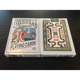 8-Bit Limited Edition Platinum Playing Cards
