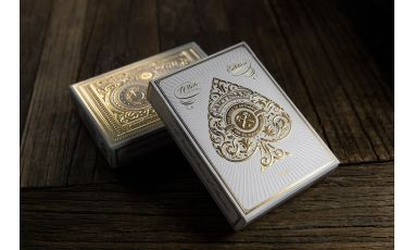 Artisan White Playing Cards Deck