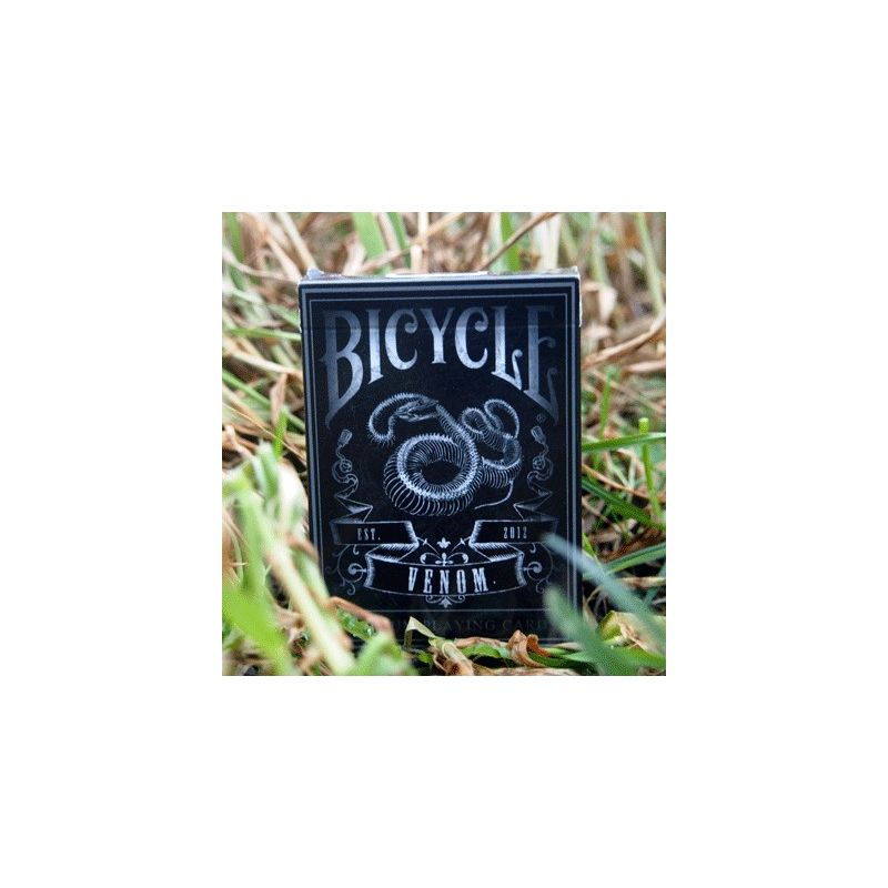 bicycle venom deck playing cards cartes magie