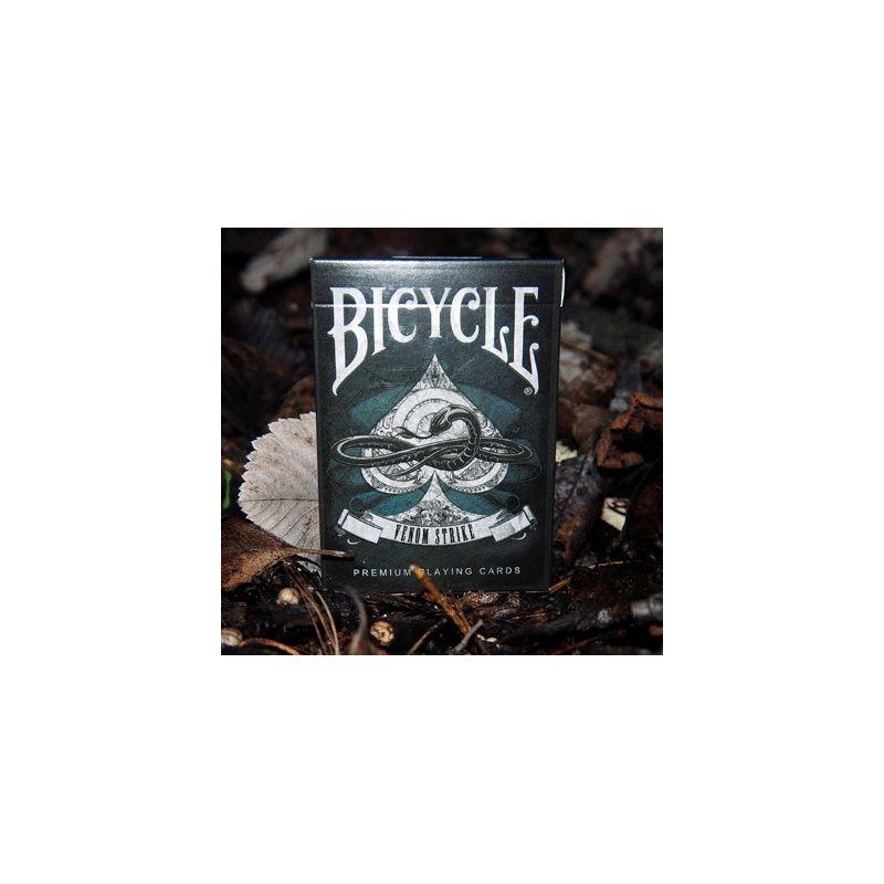 bicycle venom strike deck playing cards cartes magie
