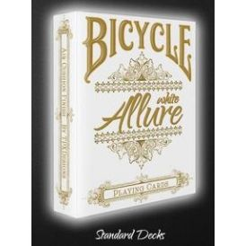 Bicycle White Allure Playing Cards