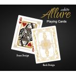 Bicycle White Allure Special Edition Gold Playing Cards