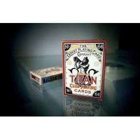 Global Titans Classic Gold Playing Cards