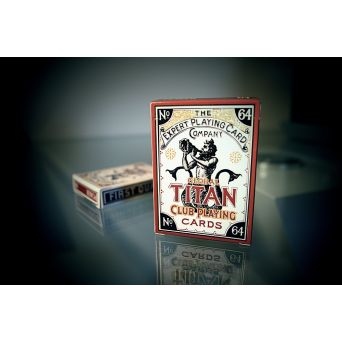 Global Titans Classic Gold Playing Cards Deck - Cartes Magie