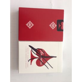 Madison Rounders Signed Red Playing Cards