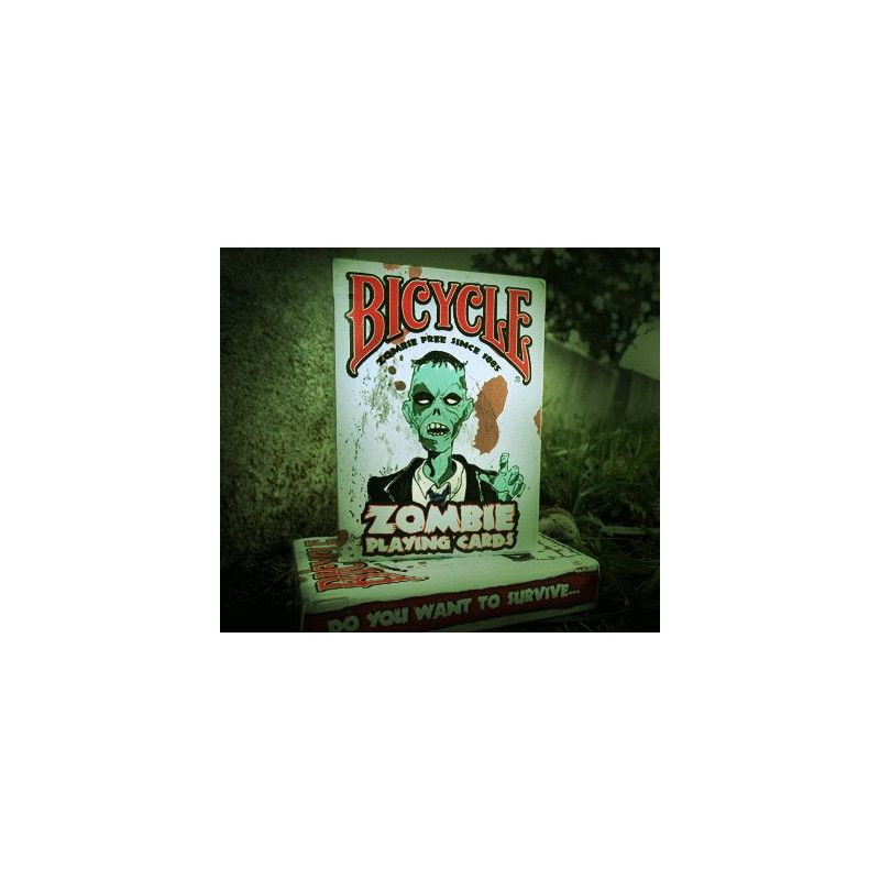 Bicycle zombie deck cartes playing cards cartes magie for Zombie balcony