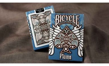 Bicycle Pluma Blue Deck Cartes Playing Cards