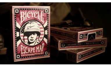 Bicycle Escape Map Deck Cartes Playing Cards
