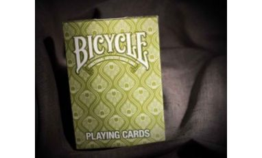 Bicycle Peacock Green Deck Playing Cards