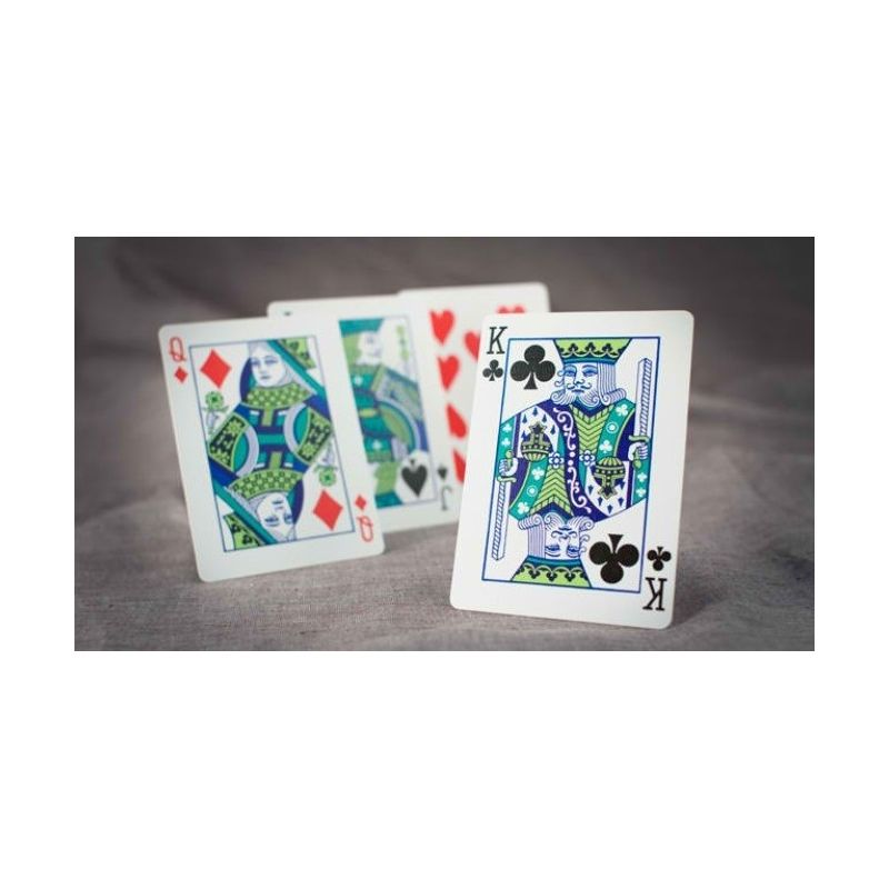 bicycle table talk red deck playing cards cartes magie