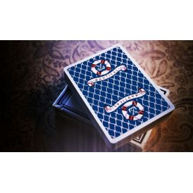 Nautical Blue Playing Cards