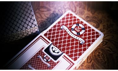 Nautical Red Cartes Deck Playing Cards