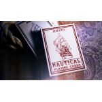 Nautical Red Playing Cards