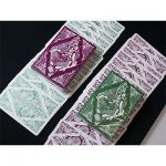 Floral Green Deck Playing Cards