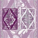 Floral Purple Deck Playing Cards