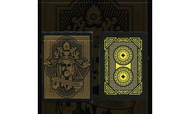 Angry God of Wealth Cartes Deck Playing Cards