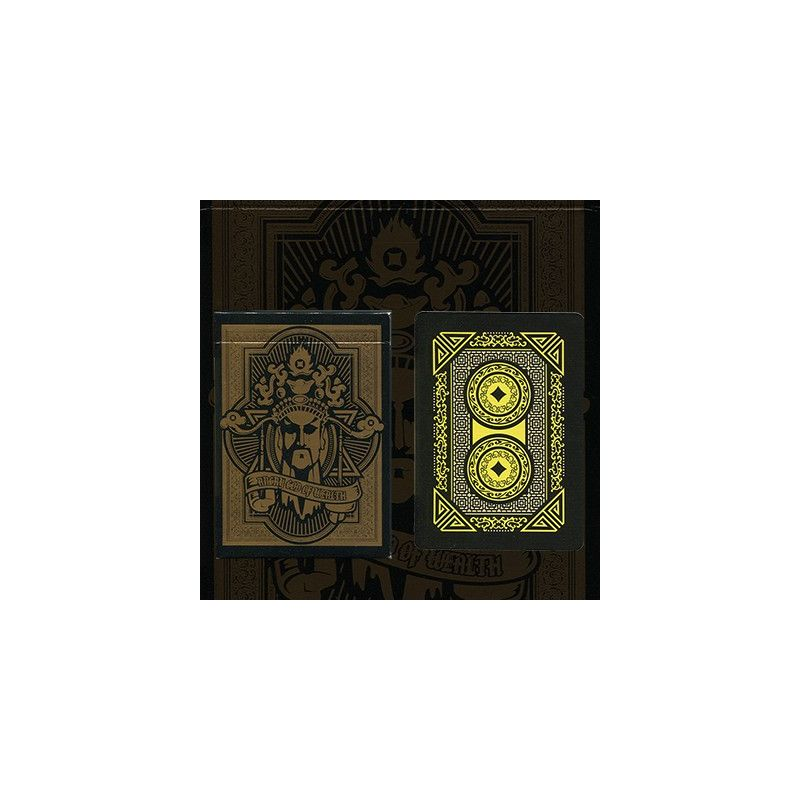 angry god of wealth cartes deck playing cards cartes magie. Black Bedroom Furniture Sets. Home Design Ideas