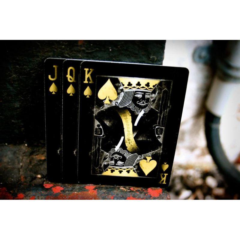 Golden Edition poker jeu de cartes Vända