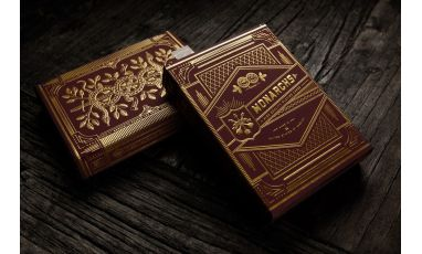 Red Monarchs Playing Cards Deck
