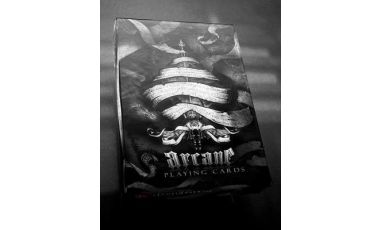 Arcane Black Cartes Deck Playing Cards