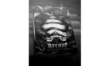 Arcane Black Cartes Deck Playing Cards