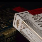 White Monarchs Playing Cards