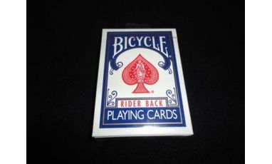 Bicycle Rider Back OHIO Blue Cartes
