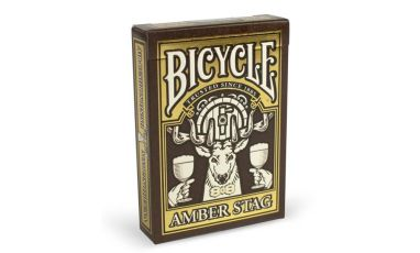 Bicycle Amber Stag  Playing Cards Deck