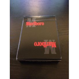 Marlboro Black Playing Cards