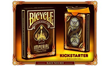 Bicycle Imperial Black Limited Cartes Deck Playing Cards