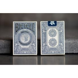 Bicycle Branded Silver Certificate Cartes
