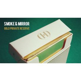 Smoke & Mirrors Gold Private Reserve Playing Cards