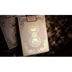 Crown Luxury Diamond White Edition Playing Cards