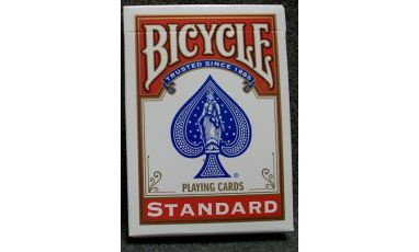 Bicycle Rider Back Red Cartes