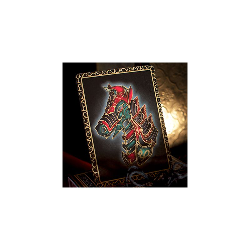 bicycle warrior horse playing cards deck cartes magie