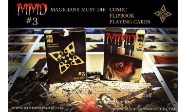 MMD 3 - Magicians Must Die Cartes Deck Playing Cards