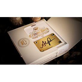 Crown Luxury Diamond White Handmade Edition Playing Cards