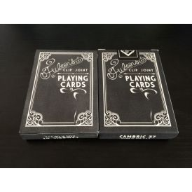Fulton's Clip Joint Black Label Private Reserve Playing Cards
