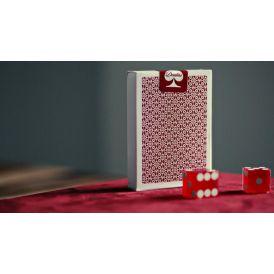 Dealers Red Bordered Cartes