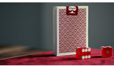 Madison Dealers Red Bordered Cartes Deck Playing Cards
