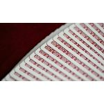 Dealers Red Bordered Playing Cards