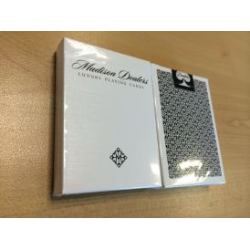 Dealers Black Bordered Playing Cards
