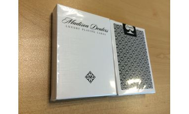 Madison Dealers Black Bordered Playing Cards Deck