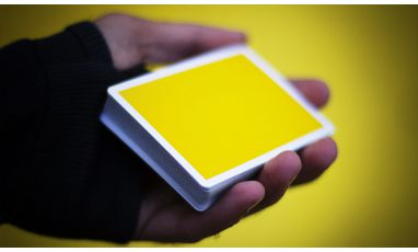 NOC V3S Yellow Cartes Deck Playing Cards