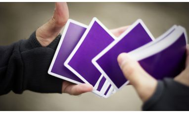NOC V3S Purple Playing Cards Deck