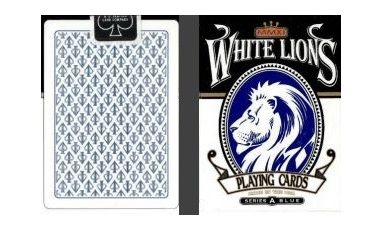 White Lions Blue Series A Cartes